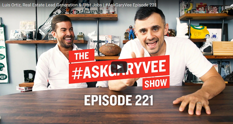 Gary Vaynerchuk and Luis Ortiz talk real estate